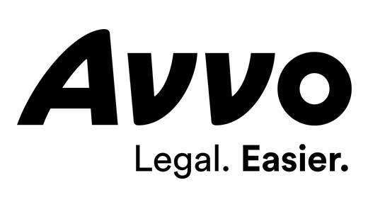 Avvo logo black tagline
