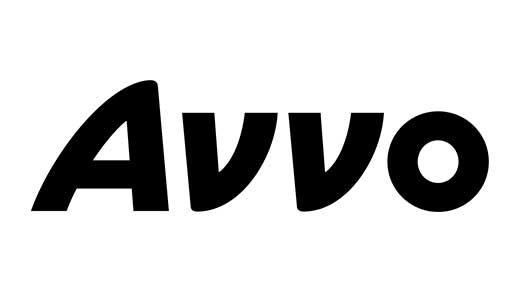 Avvo logo black