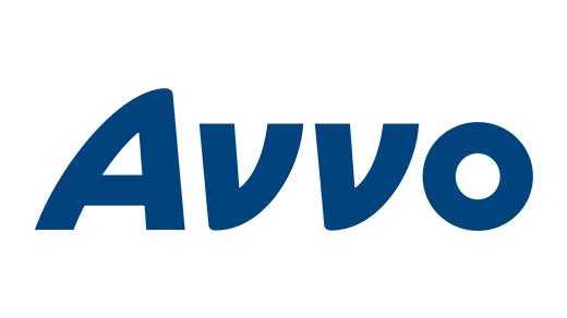 Avvo logo navy