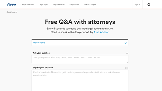Free Q&A Section screenshot
