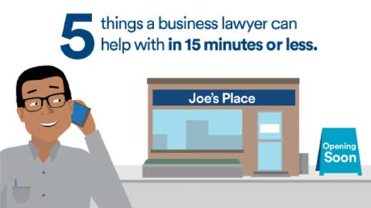 Avvo Small Business Legal Help Study 2015 (Infographic)