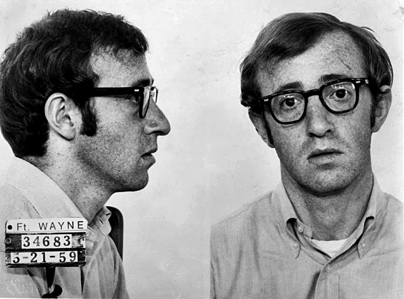 Woody Allen in Take the Money and Run, 1969