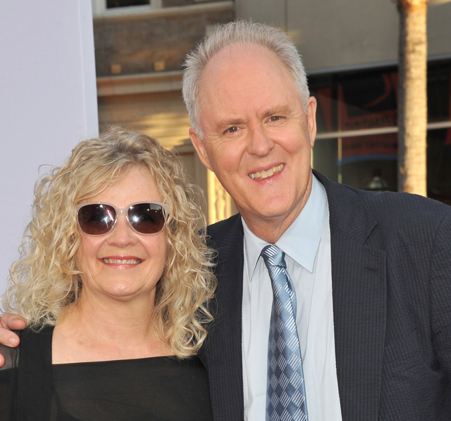 John Lithgow with Wife Mary Yeager