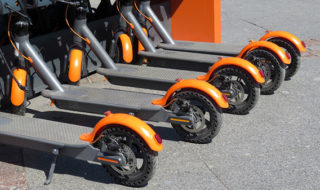 electric scooter rental in city