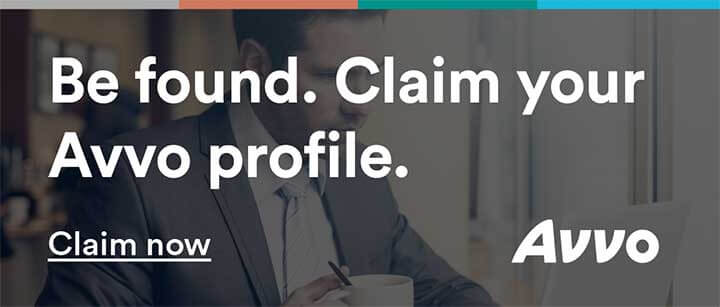Be found. Claim your Avvo profile.
