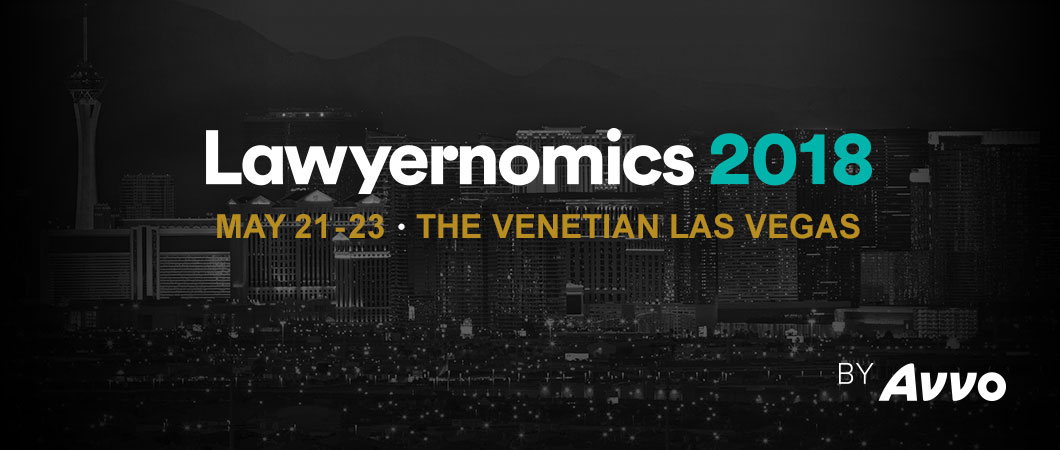 Lawyernomics 2018 Conference - May 21-23 - The Venetian Las Vegas